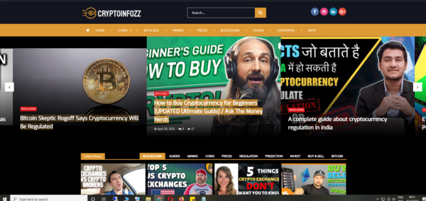 Cryptoinfozz.com - Fully Automated Crypto Currencies Video Blog, Auto- Shop - Free Hosting - Fully Automated Crypto Currencies Video Blog, Auto-Shop - Free Hosting + Great Bonuses. Earn money from the Amazon/Ebay/ commissions.