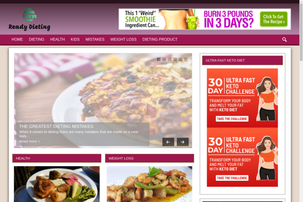 Diet Niche  - Tap Into The MultiBillion Diet Niche With Your Own Ready-to-Go Diet website