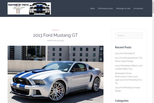 mustang-gt-parts.com - 2013 Ford Mustang car blog