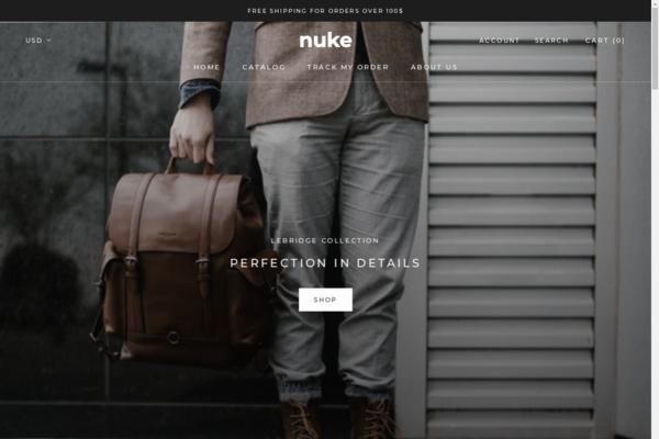 nukebags.com - Nukebags.com  300$ profit margins   Custom Product   Drop-shipping