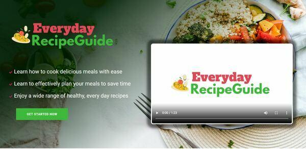 EverydayRecipeGuide.com - Cooking and Recipe Book Bundle Store, Digital Product, Wordpress/WooCommerce