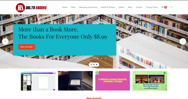 DeltaEbooks.com  - www.DeltaEbooks.com fully functional eBook store - Preloaded with 50+Fast Selling eBooks Keep 100% Profit No Experience Required Newbie  - Enjoy the Sales!