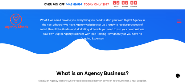 AgencyShack.com - You Can Own Your Own Agency Reseller Business
