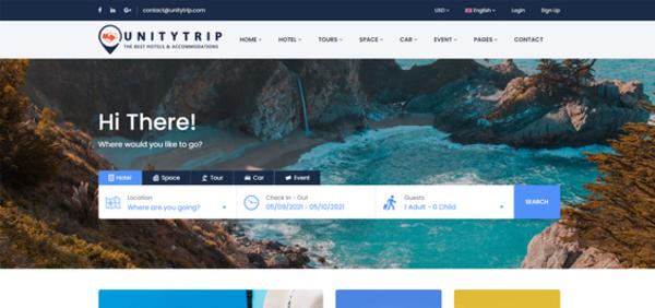 unitytrip.com - Unitytrip.com A Booking Travel System Platform
