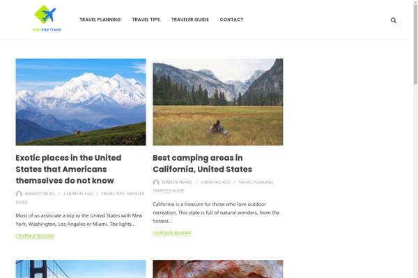 kiwikitetravel.com - kiwikitetravel.com Domain Valued $725 Travel niche adsense approved