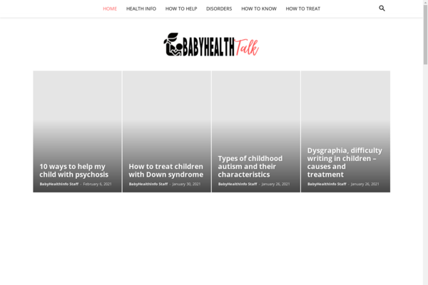 BabyHealthInfo.com - BabyHealthInfo: Baby Health, Disorders, Health Info, How to