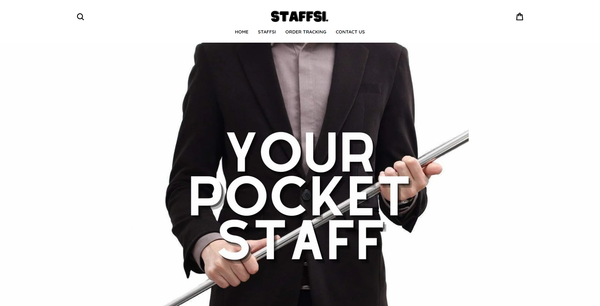 staffsi.com - Extendable Pocket Staff Business   Branded One Product Store