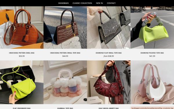 HandbagPal.com - Fashion Handbags Store |Fantastic Opportunity to Start Dropshipping Worldwide| New User Friendly|Automated Fulfilment| Premium Domain worth $1242|Password: 123