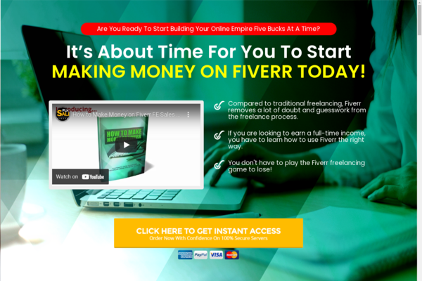 MakeMoneyWithFiverr.club - 10 eCommerce Websites With Digital Products | Exciting Buy It Now Bonuses
