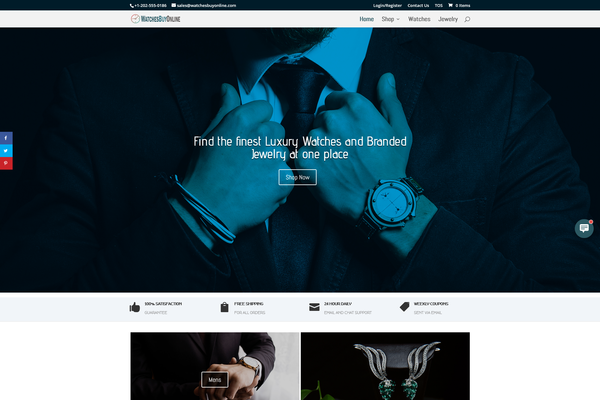 WatchesBuyOnline.com - Watches & Jewelry Store | FREE HOSTING | EU Supplier | Unlimited potential