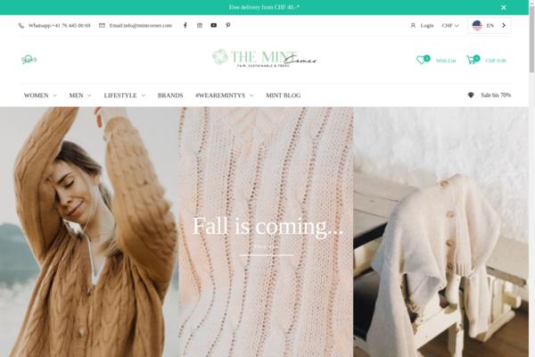 themintcorner.com - Sustainable & Fairtrade Fashion, Accessoires & Beauty Shop incl. stock