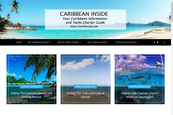 caribinside.com - Caribbean Charter Yachts (Huge Content)