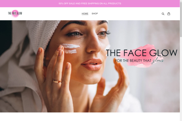 thefaceglow.com - Unique Beauty Store For Sale: The Face Glow