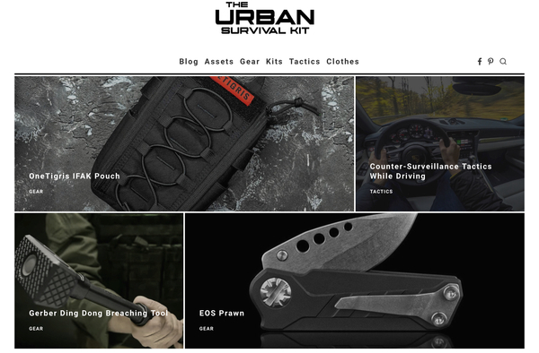 theurbansurvivalkit.com - Advertising / Sports and Outdoor