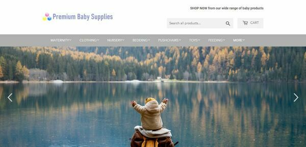 PremiumBabySupplies.com - Shopify Dropship Baby Store with Domain Worth $926