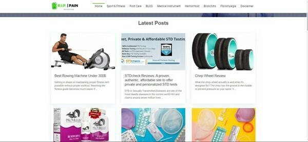 rippain.com - Marketplace / Health and Beauty