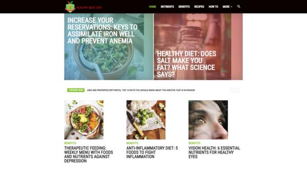 HealthyBestDiets.com - HealthyBestDiets.com: Health, Nutrition, Healthy Diet, Best Diet