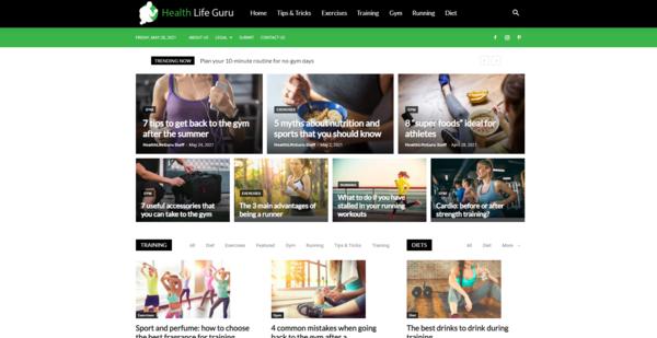 HealthLifeGuru.com - HealthLifeGuru.com: Health, Wellness, Fitness, Nutrition, Basics & Plans