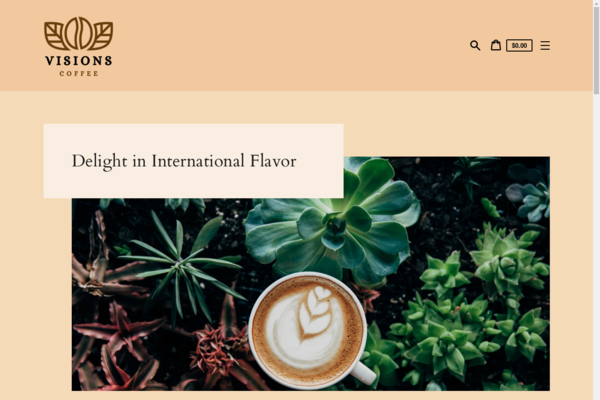 visionscoffee.com - Delight in International Flavor