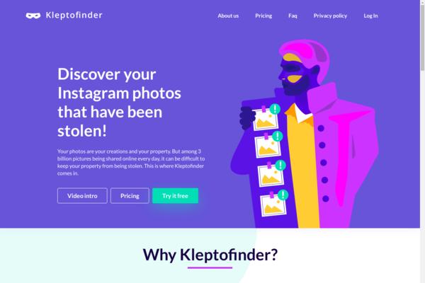 kleptofinder.com - KleptoFinder helps creators to protect digital properties
