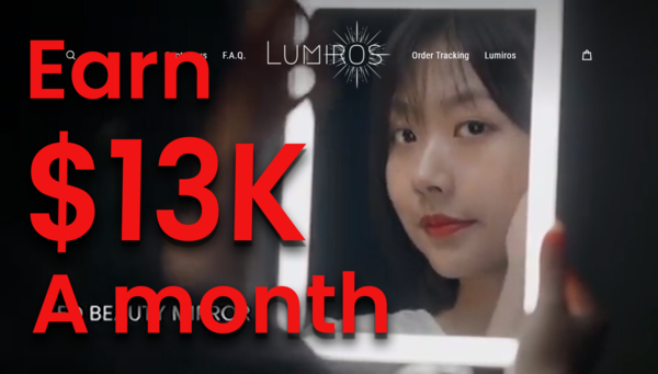 lumiros.com - GET THE LIFE YOU WANT With Trending Product: (10-15K USD/Month) $$$