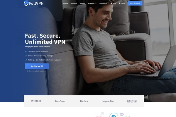 FullVPN - A complete VPN Business with active subscribers! Included 4 Apps for Windows, MacOS, iOS, Android, Custom made Website and Premium Domain.