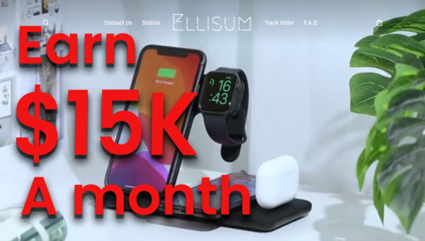 ellisum.com - DON'T BE LATE & RIDE THE WAVE! Trending Product: (10-15K USD/Month) $$$