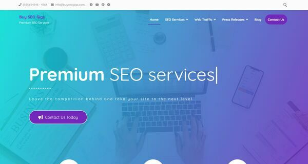 BuySeoGigs.com - Stunning SEO Service Reseller Done-For-You Business Site. Newbie Friendly. Premium aged domain worth $705. Easily managed WordPress & WoWooCommerce site