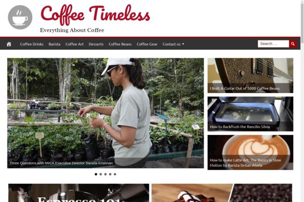 CoffeeTimeless.com - Hot Coffee Niche - Premium Design - 100% Fully Automated + BIN hosting