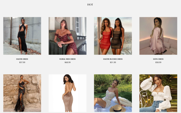StylePrima.com - Premium Women's Fashion Store. Dropship Worldwide.  $1,333 Domain Value