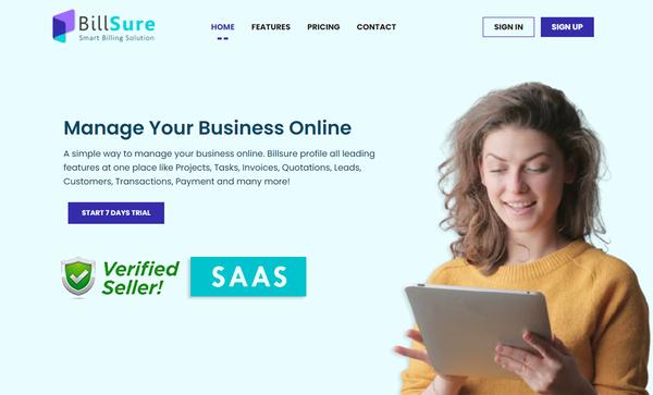 Billsure - SaaS-Based Online Whole Business Management Platform