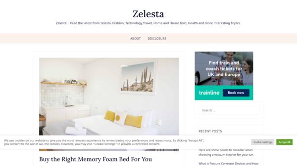zelesta.online - High-quality Amazon affiliate site, zelesta.online.Huge potential!.