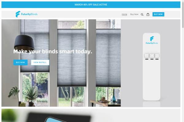 futurityblinds.com - Home Improvement Brand / Huge potential / 80k in revenue!