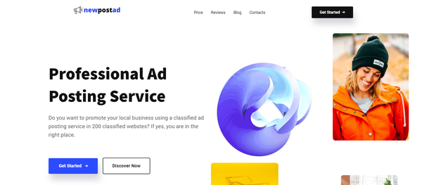 newpostad.com - Classified Ads Posting Service Automated & Outsourced Business. Newbie Friendly.