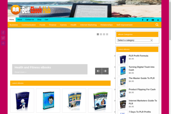 BestEBookHub.com - Direct Paypal Payment-200++Exclusive High Demand EBook Store-Newbie Friendly