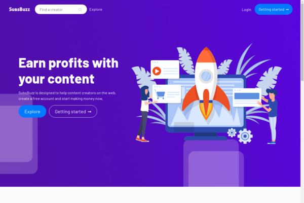 subsbuzz.com - Monetize website for Content Creators | Get Subscribers