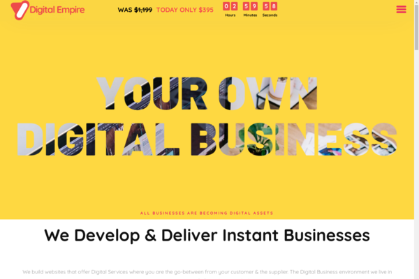 Digital-Empire.Agency - Own Your Own Digital Services Business Agency