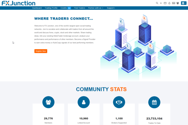FXjunction.com - FX Junction - One of world's largest open social networks for Forex traders