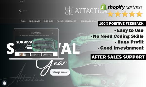 Attactica.com - Attactica.Com Pass: 1234   Tactical Gear Store. No Coding Skills. Usa Warehouses