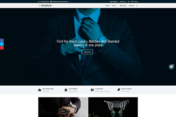 WatchesBranded.com - Watch & Jewelry Store | FREE HOSTING | EU Supplier | Unlimited potential