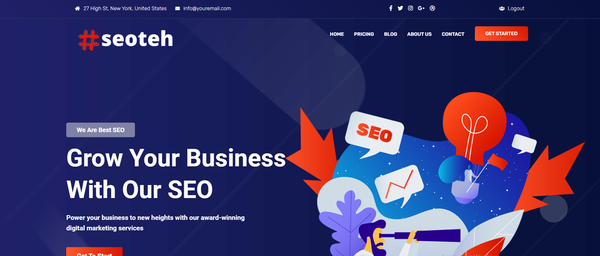seoteh.com - Premium SEO Services Business Outsourced. Newbie Friendly Done-For-You Business