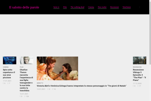 ilsalottodelleparole.com - Italian blog about movies in adsense