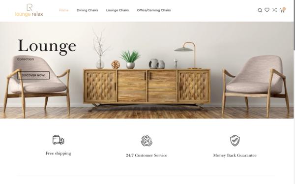 LoungeRelax.com - LoungeRelax.com   Premium Chairs U.S. Supplier FAST SHIPPING $1,434 Domain Value