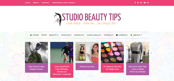 StudioBeautyTips.com - HIGH Converting beauty Niche  100% Fully Automated   Ready To Start Earning NOW!