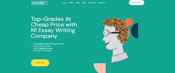 essaydge.com - Hot Automated Essay Company. White Label & Newbie Friendly Business. High Profit