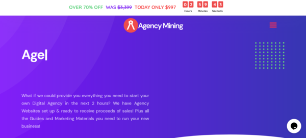 AgencyMining.com - Own Your Own Agency Reseller Business