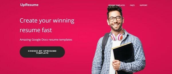 upresume.com - e-Commerce / Business