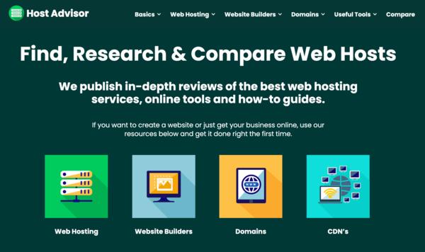hostadvisor.co.uk - Premium Web Hosting Review Site, Evergreen Niche with Unique Articles