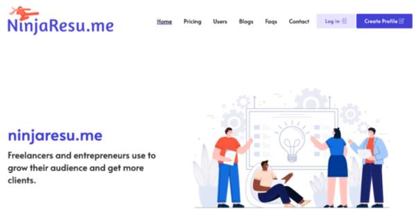 ninjaresu.me - NinjaResu.me | Online Profile & Resume Maker | NO RESERVE