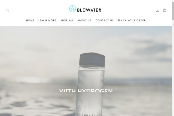 bluwaterbottle.com - BLUWATER the world leading seller of Hydrogen water generators